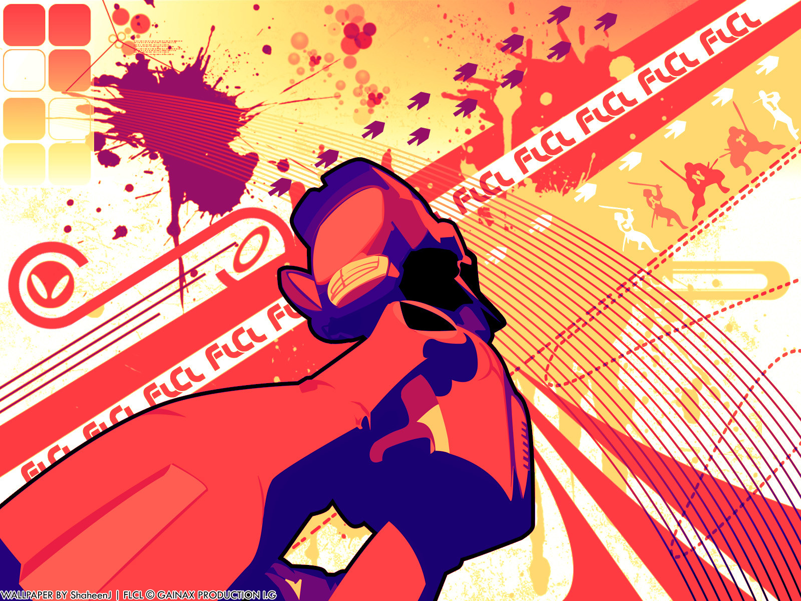 Flcl fooly cooly canti wallpaper 1600x1200 196501 - Flcl wallpaper ...