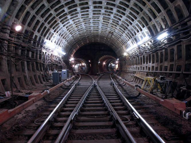 metro tunnels wallpaper