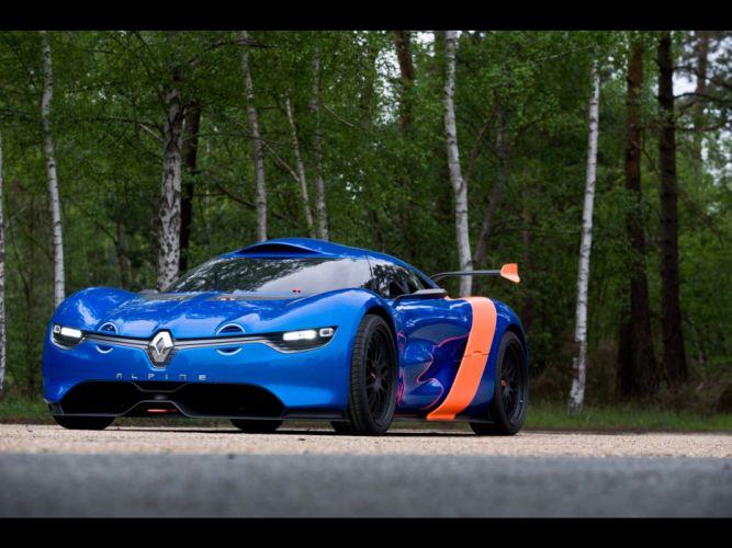 cars concept art supercars Renault Alpine static racing cars Renault Alpine A110-50 wallpaper