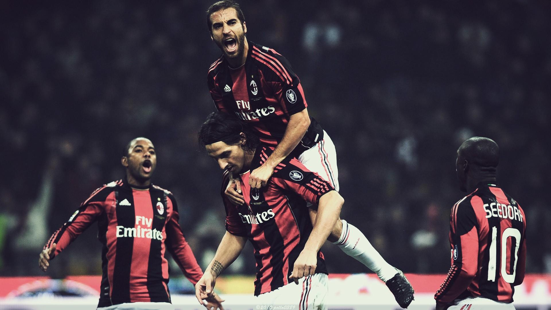 beast AC Milan Robinho Zlatan Ibrahimovic Mathieu Flamini Clarence
