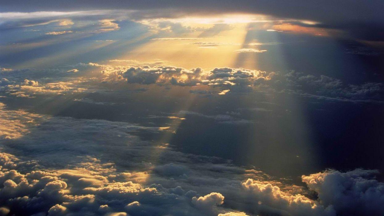 Sun Heaven wallpaper