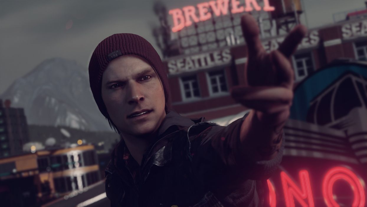 video games Playstation 4 Infamous Second Son Delsin Rowe wallpaper