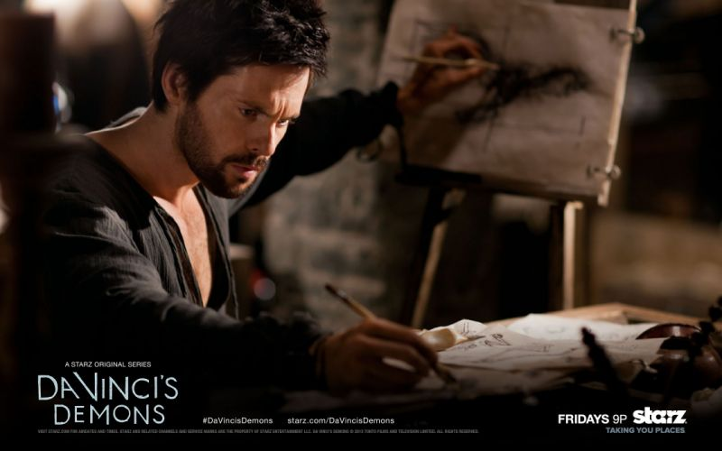 historic serials Da Vincis Demons wallpaper