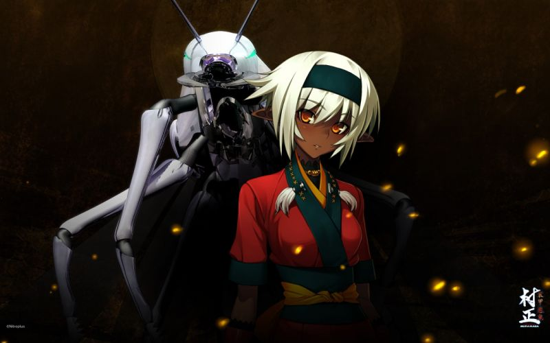 anime Full Metal Daemon Muramasa Nidaime Muramasa wallpaper