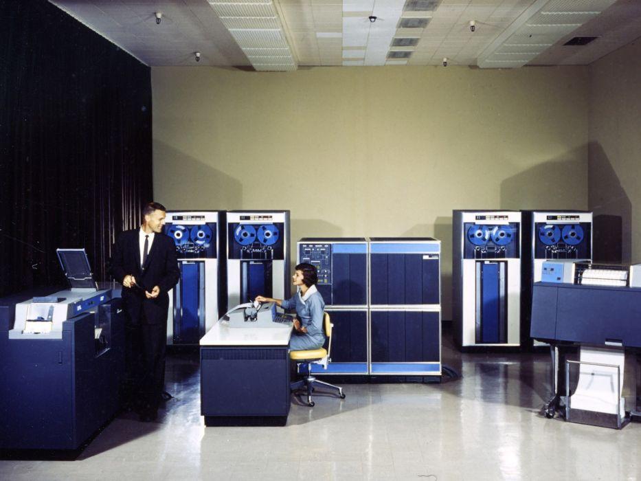 computers history IBM 1401 wallpaper