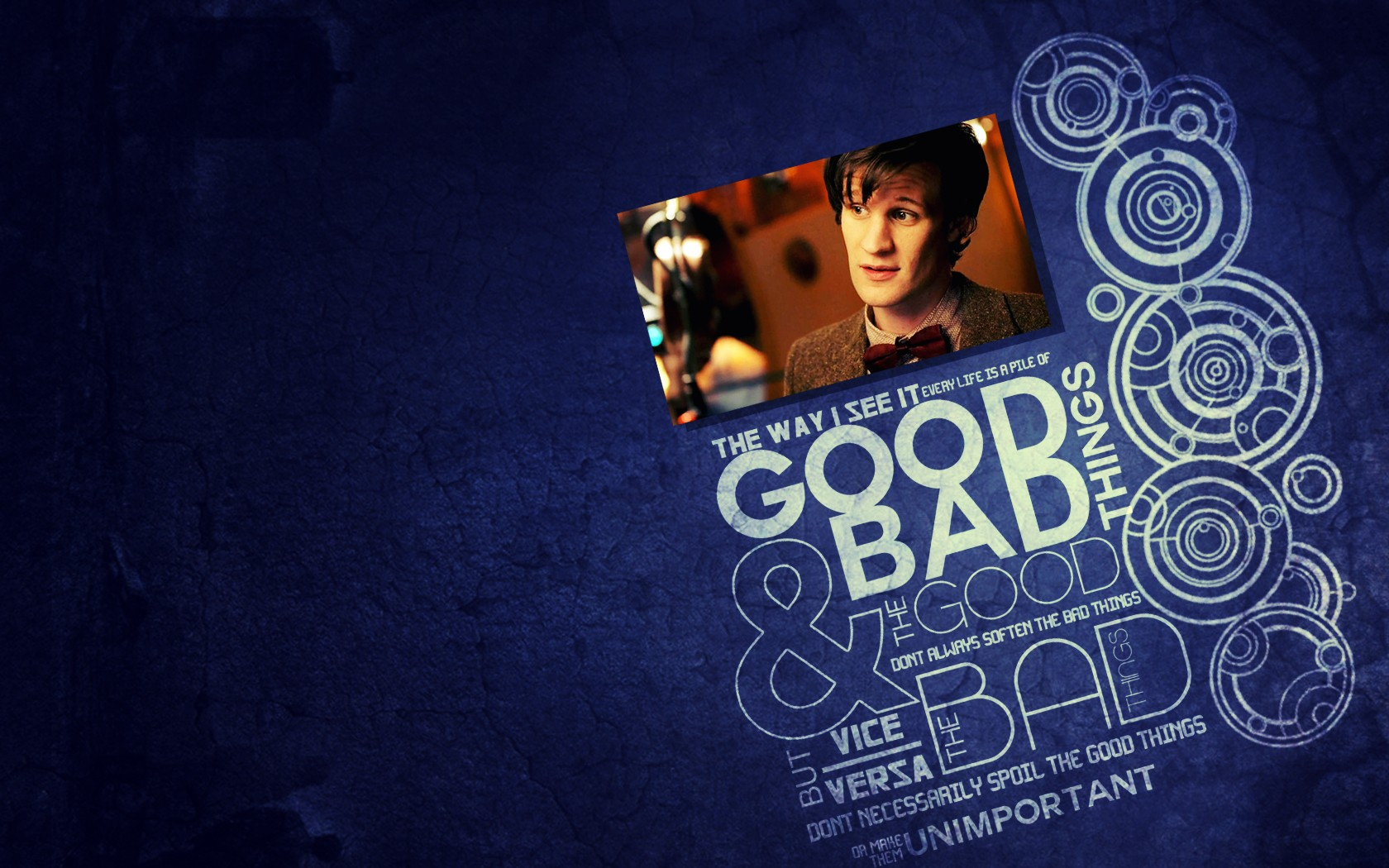Matt Smith Doctor Who Quotes: Quotes Matt Smith Circles Typography Eleventh Doctor
