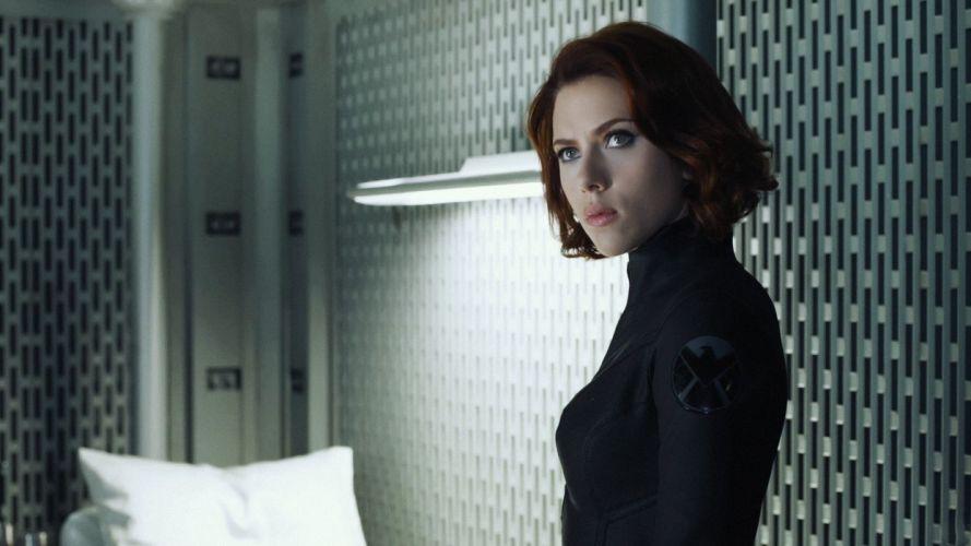 women Scarlett Johansson Black Widow Natasha Romanoff The Avengers (movie) S_H_I_E_L_D_ wallpaper