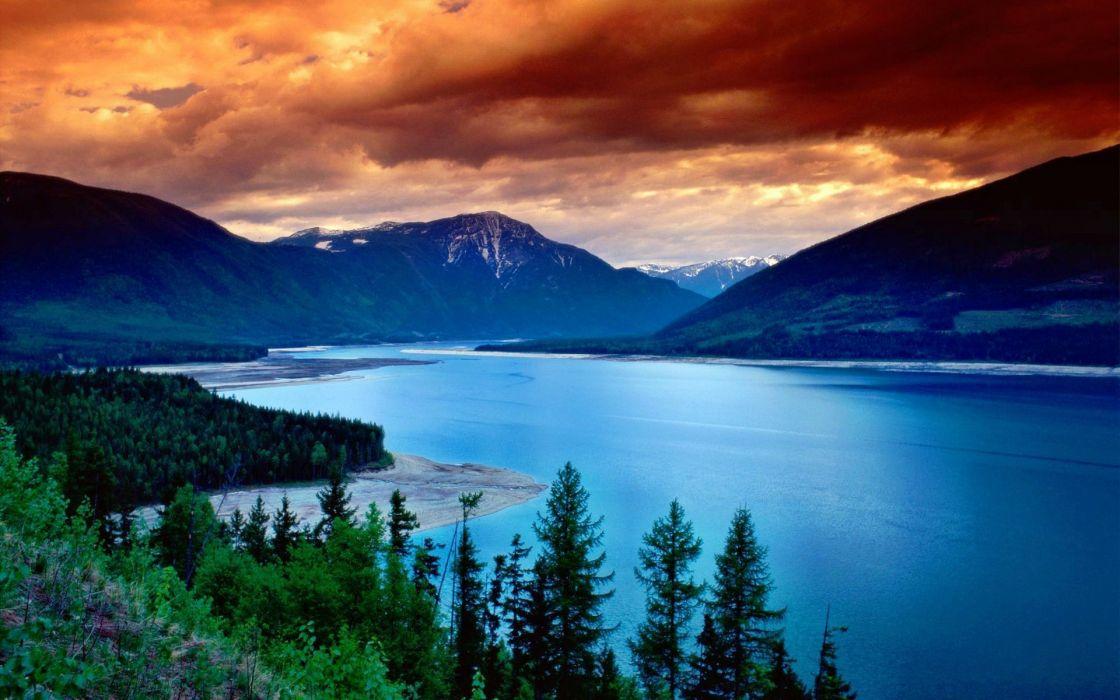 landscapes Canada wallpaper