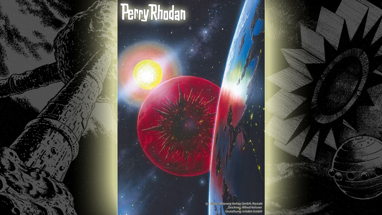 outer space Perry Rhodan science fiction wallpaper