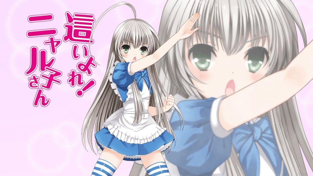 anime anime girls Haiyore! Nyaruko-san Nyaruko wallpaper