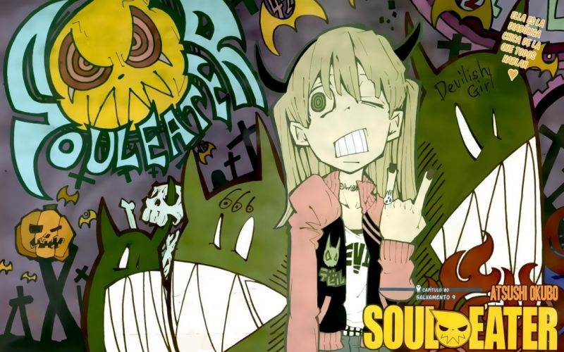 Soul Eater Black Star Death The Kid The Kid Albarn Maka wallpaper