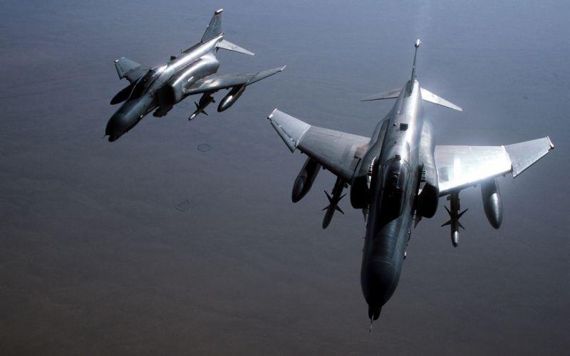 aircraft planes F-4 Phantom II wallpaper