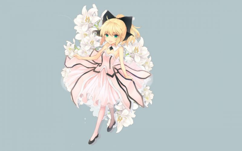 Fate/Stay Night Fate Unlimited Codes Saber anime girls Saber Lily Fate series wallpaper