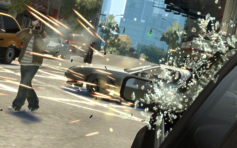 video games Grand Theft Auto GTA IV wallpaper