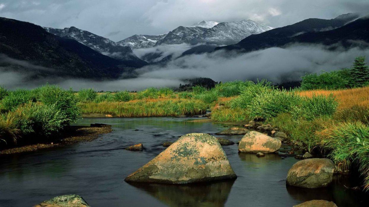 light sunrise mountains rocks Colorado rivers National Park wallpaper