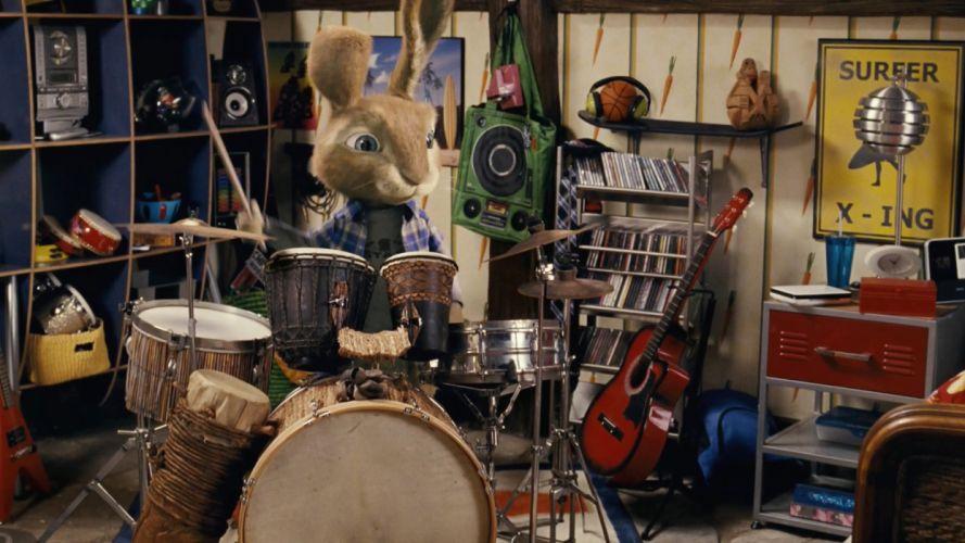 cartoons drum set Hop (2011) wallpaper
