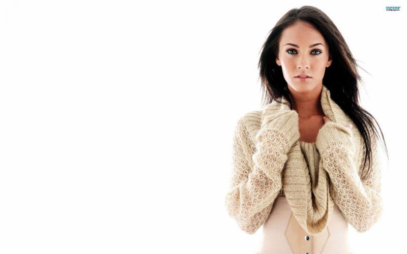brunettes Megan Fox actress models Hollywood wallpaper