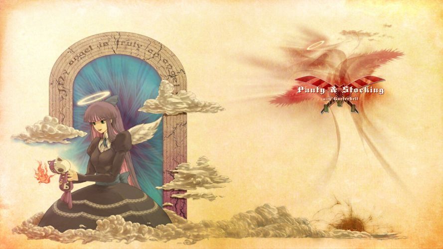 Panty and Stocking with Garterbelt Anarchy Stocking wallpaper