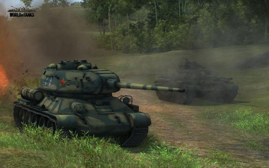 combat World of Tanks online games screens wallpaper