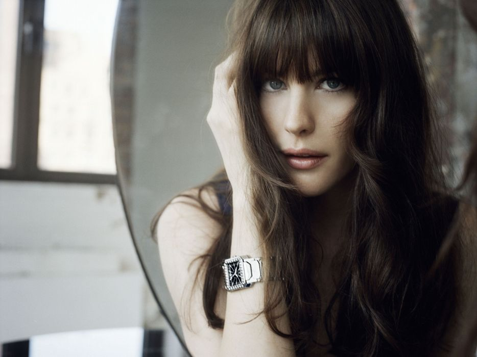brunettes women actress models Liv Tyler celebrity fashion model watch wallpaper