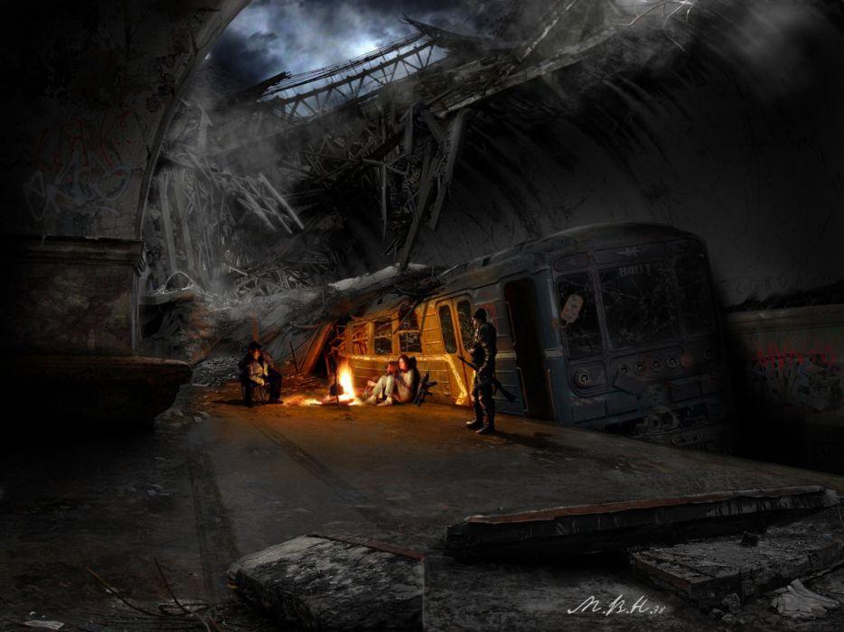 fantasy post-apocalyptic fantasy art artwork wallpaper