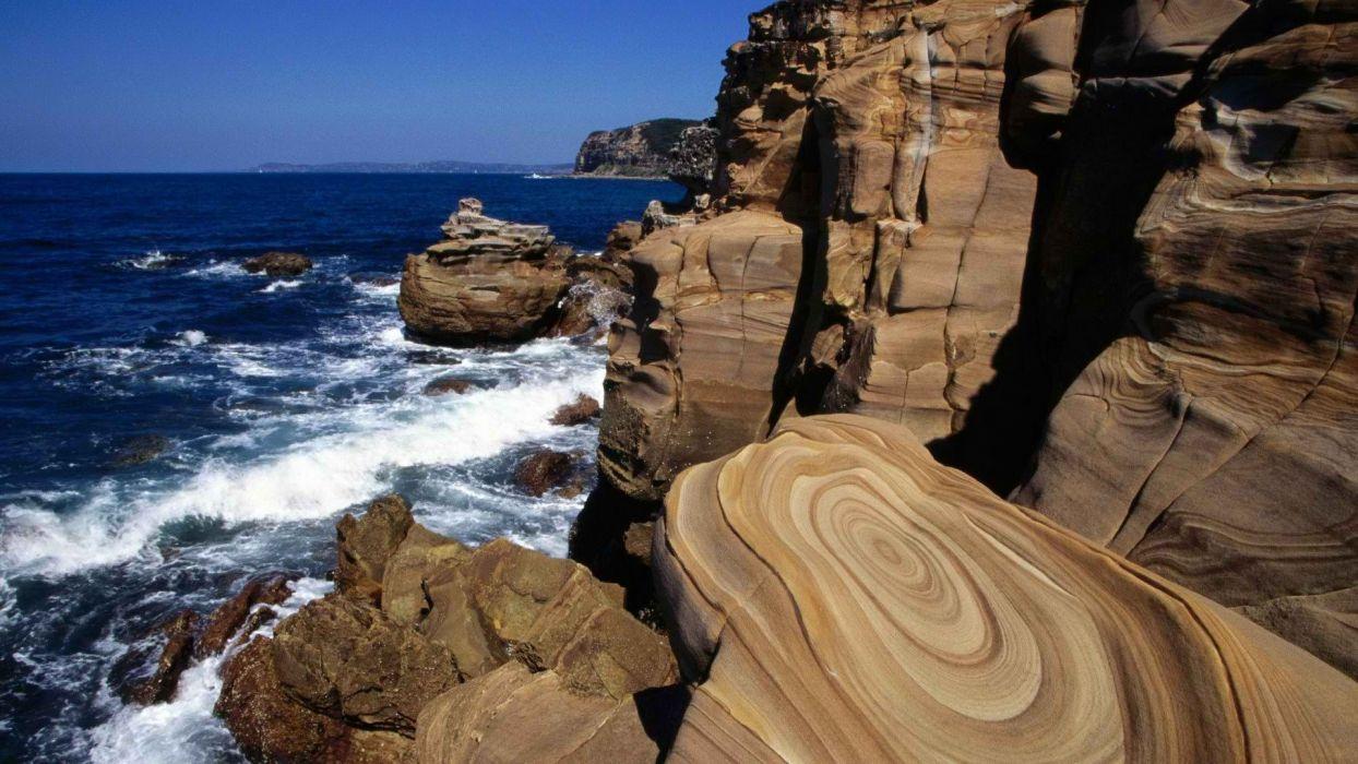 Wales south Australia National Park bay wallpaper