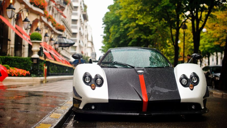cars Pagani Pagani Zonda Cinque wallpaper