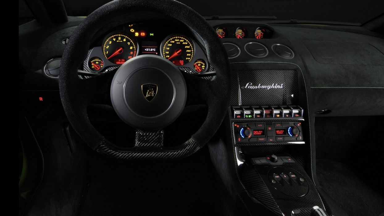 Cars Interior Lamborghini Gallardo Superleggera Wallpaper