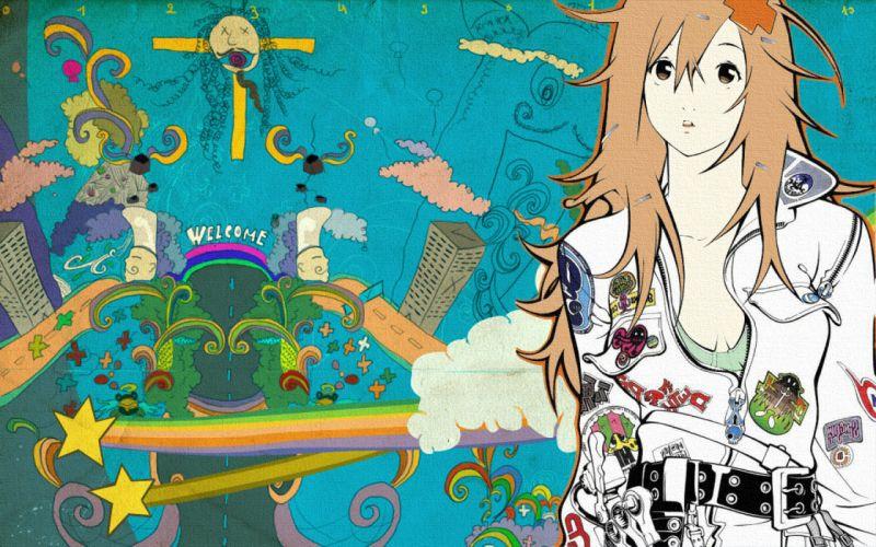 Air Gear Sumeragi Kururu anime girls Oh! Great wallpaper