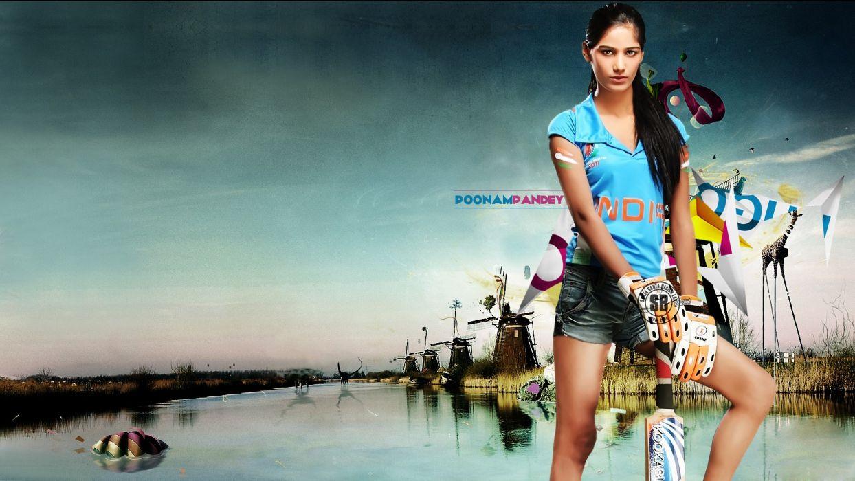 models Poonam Pandey wallpaper