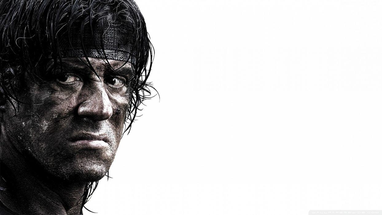 Sylvester Stallone Rambo John Rambo  wallpaper
