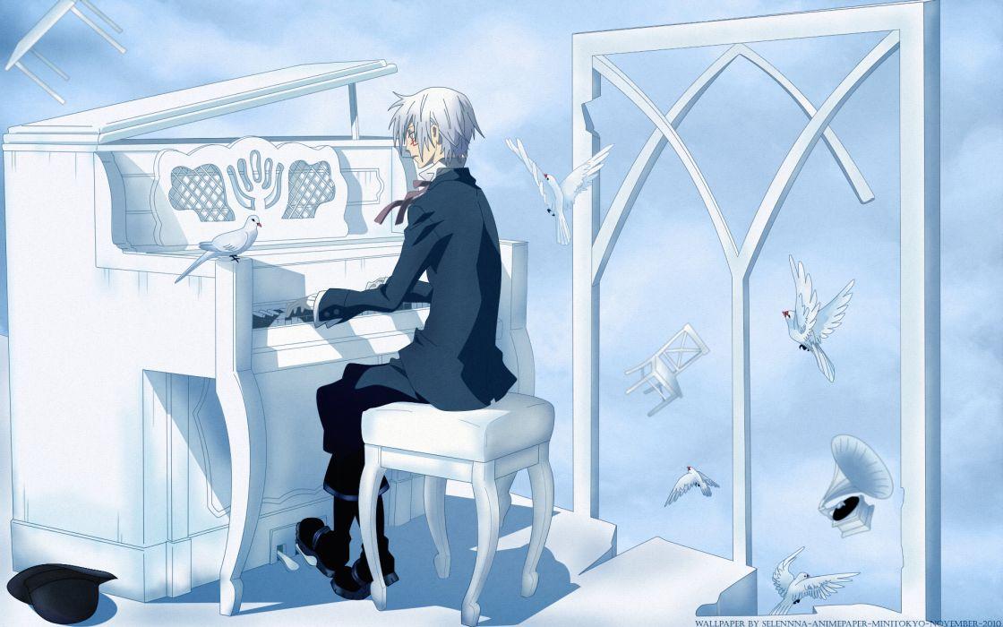 piano anime boys D_Gray-man wallpaper