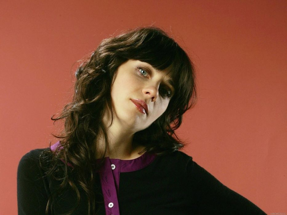 women Zooey Deschanel wallpaper