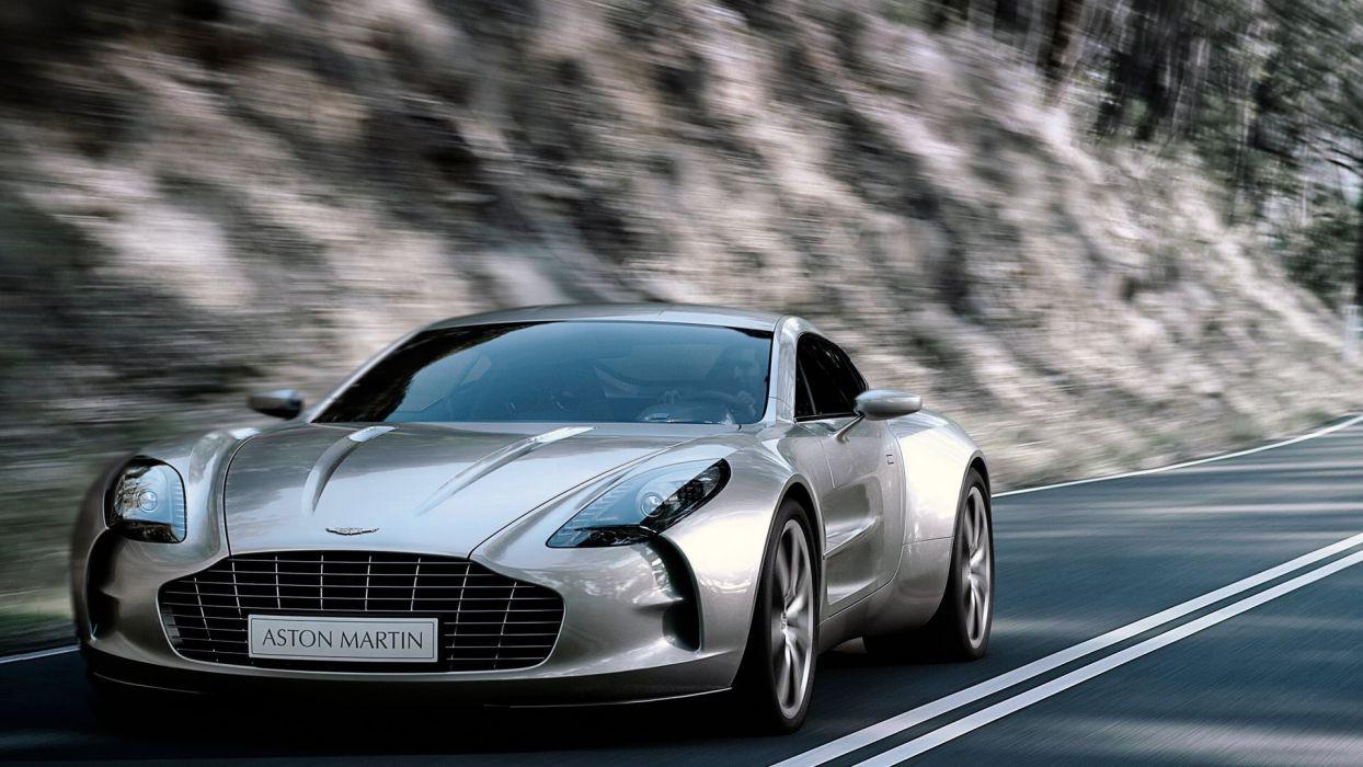 cars Aston Martin sports vehicles Onett One-77 wallpaper