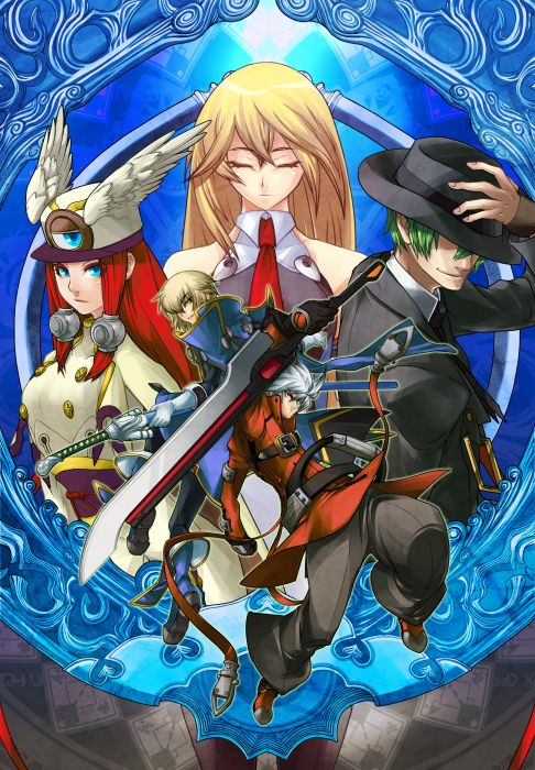 video games Blazblue anime wallpaper