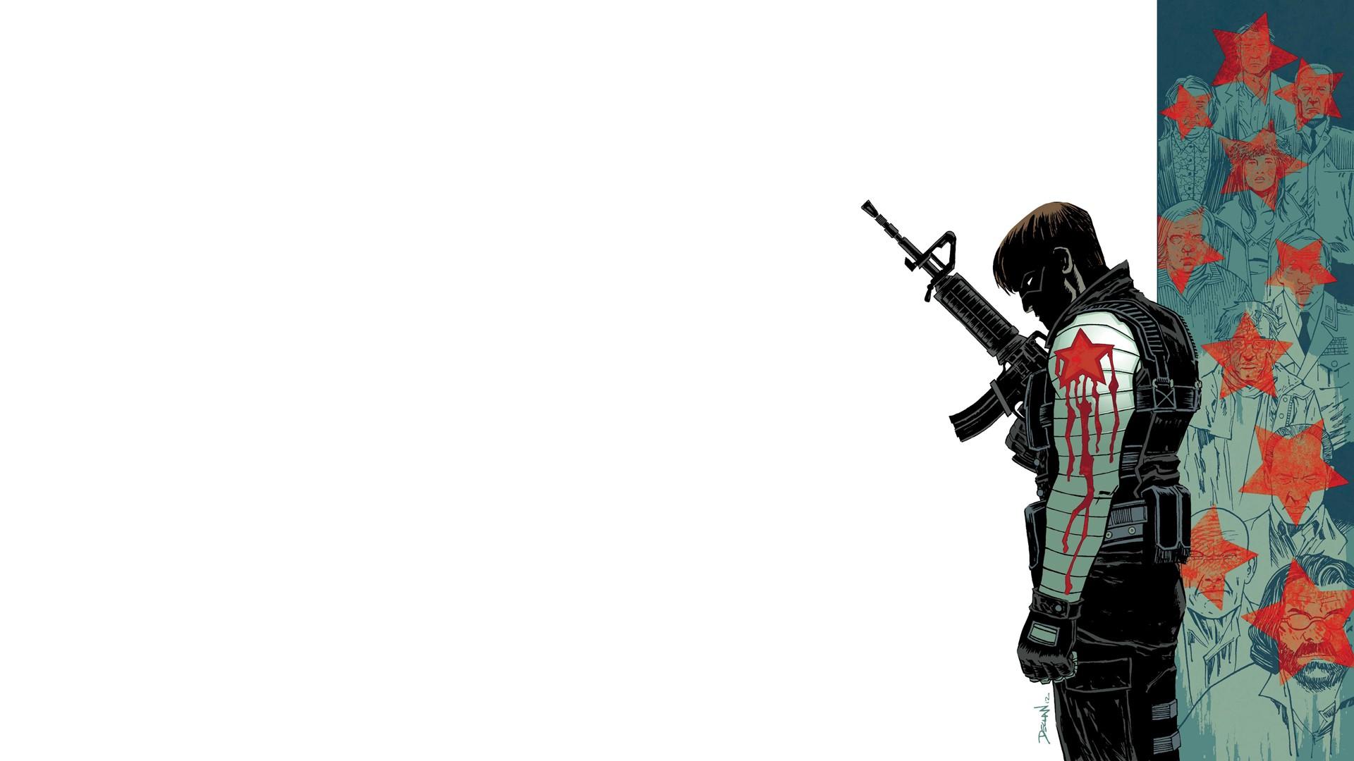 Comics Winter Soldier wallpaper   1920x1080   197022 ...