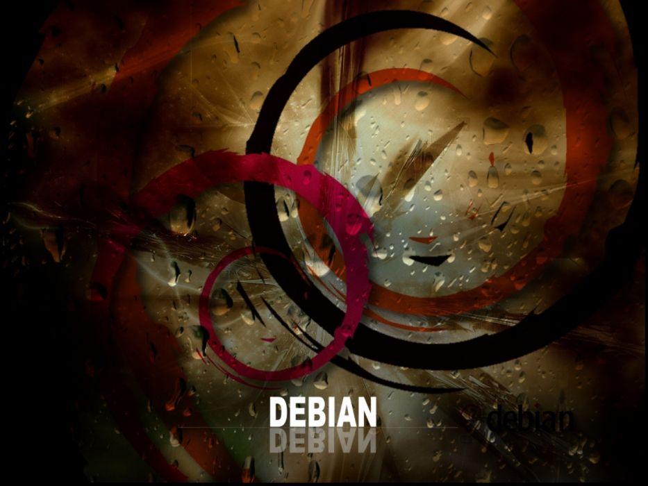 computers Debian wallpaper