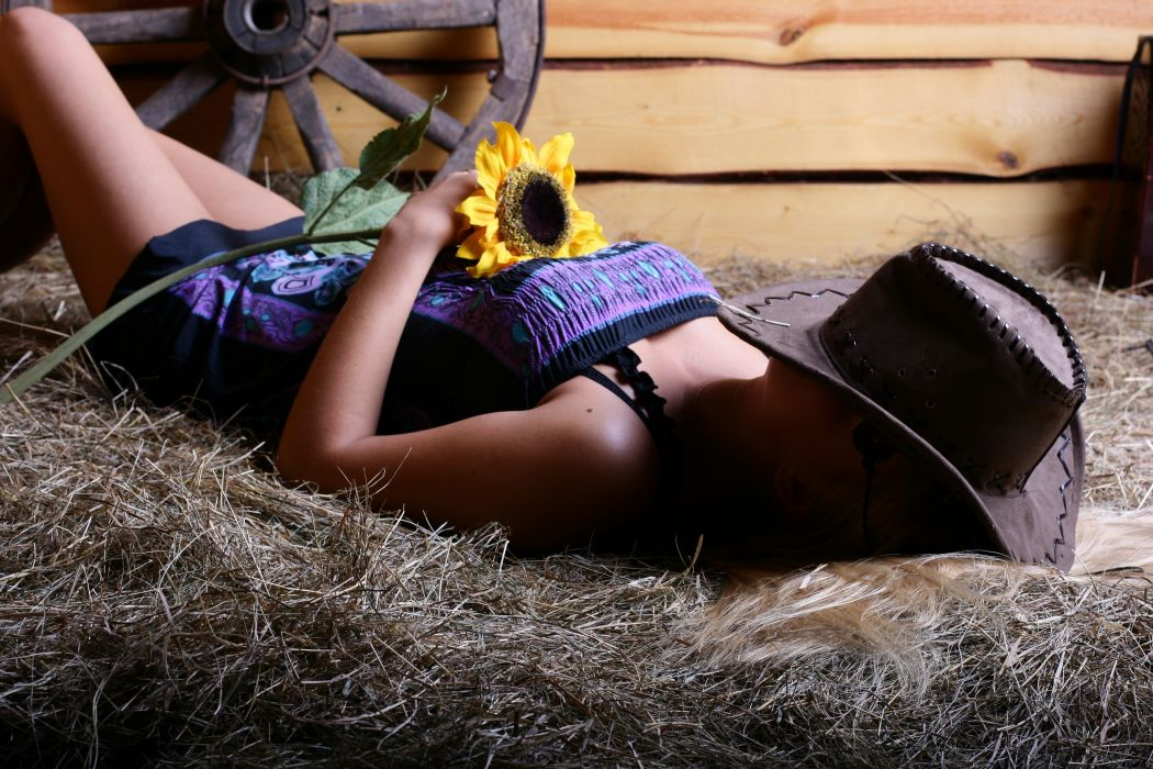 dress barn hay lies flower hat gir mood wallpaper