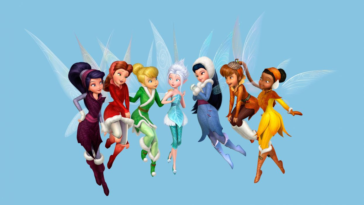 Fairiy Secret of the Wings Little girls Cartoons wallpaper