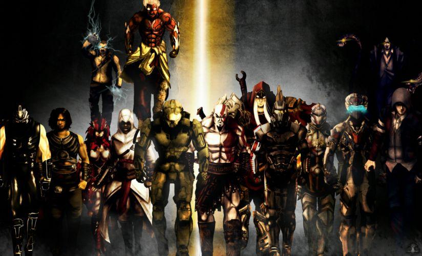 Assassins Creed Game god war protoytype dead space darkness wallpaper