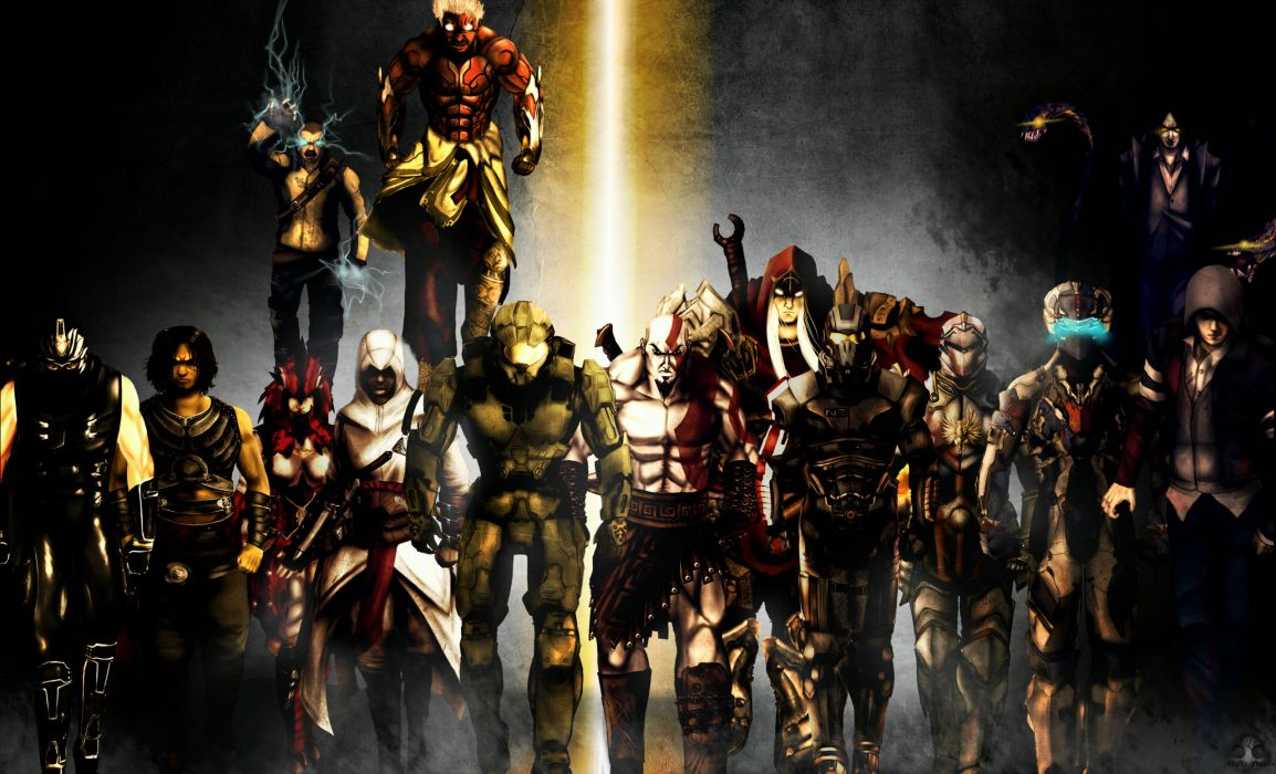 Assassins Creed Game God War Protoytype Dead Space Darkness Wallpaper 2560x1553 197151 Wallpaperup