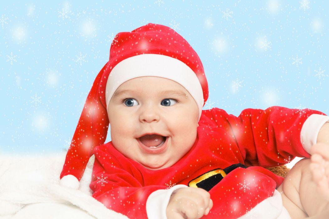 Infants Face Winter hat Children baby wallpaper