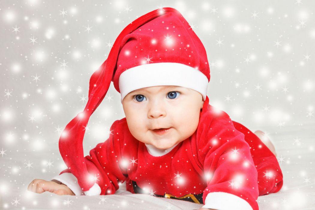 Infants Winter hat Children baby wallpaper