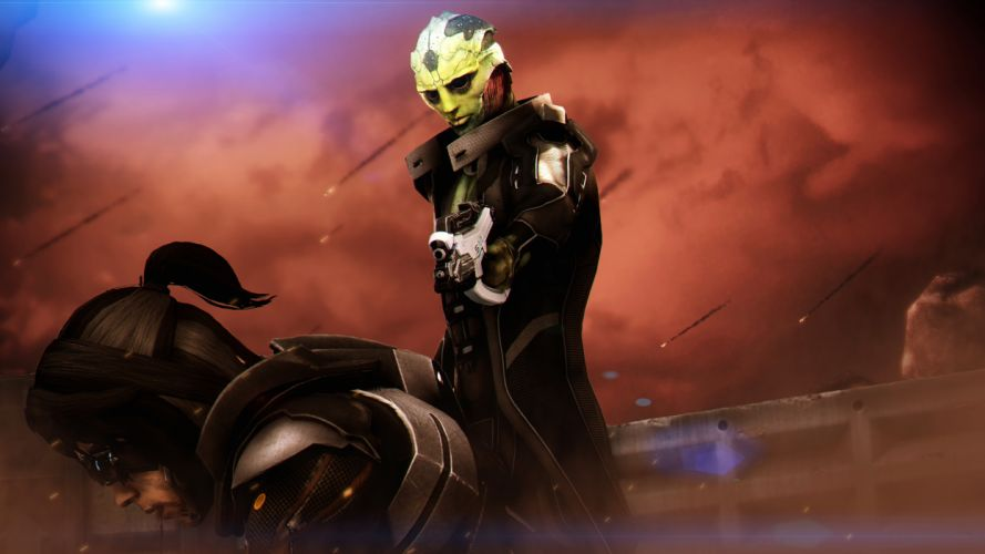 Mass Effect Alien sci-fi wallpaper