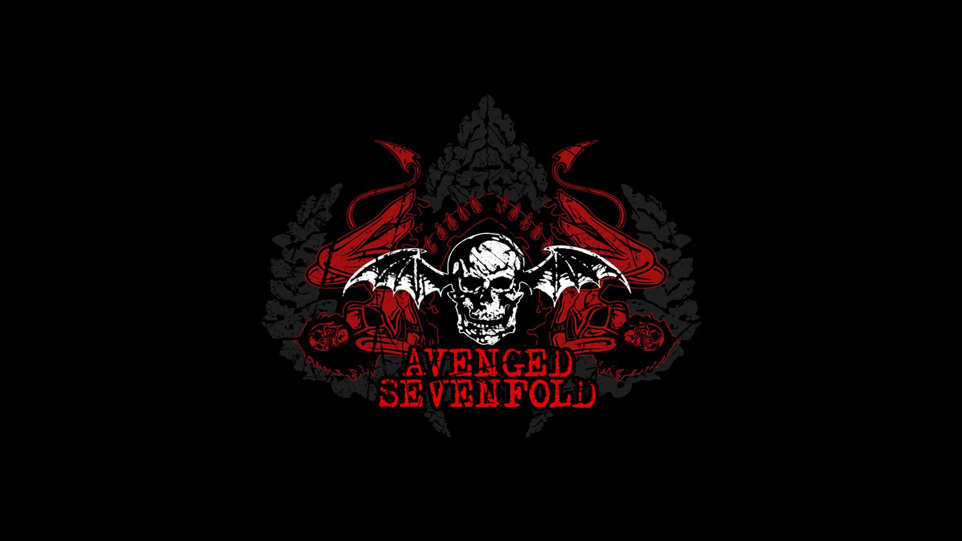 Music Avenged Sevenfold Dark Skull Wallpaper 1920x1080 197190