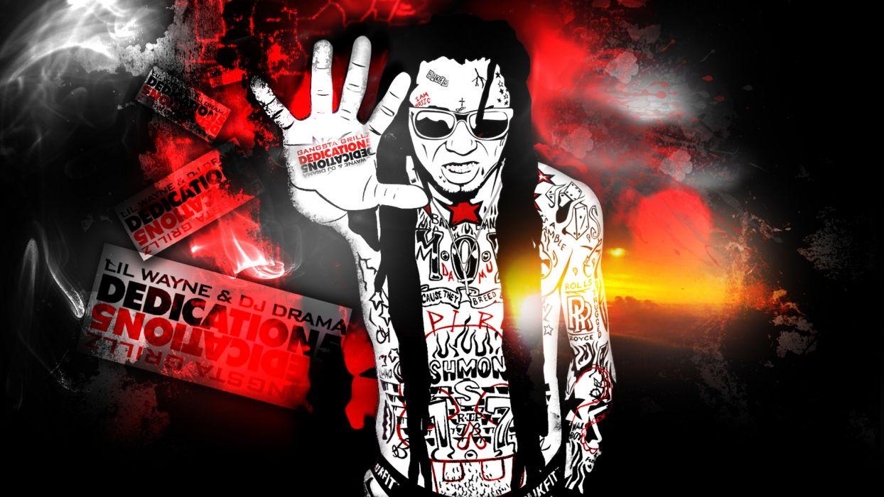 Music Hip Hop Glasses Hands Rap Rapper Lil Wayne Wallpaper