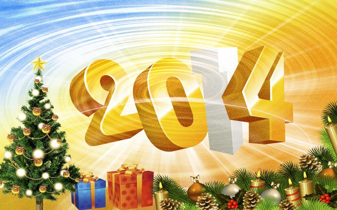 new year 2014 christmas         g wallpaper