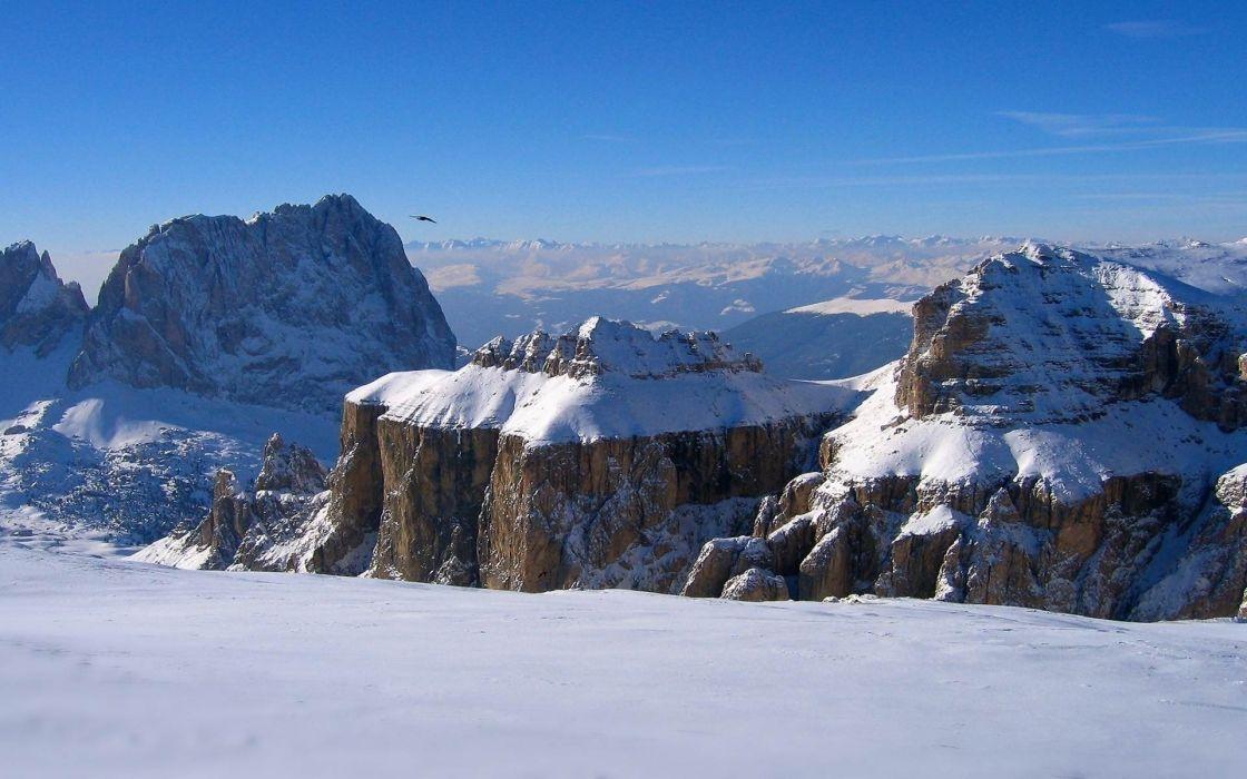 snow bird mountain height horizon winter     g wallpaper