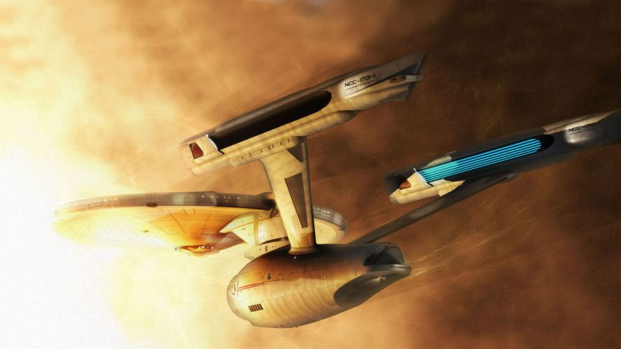 Star Trek Starship Enterprise Spaceship wallpaper