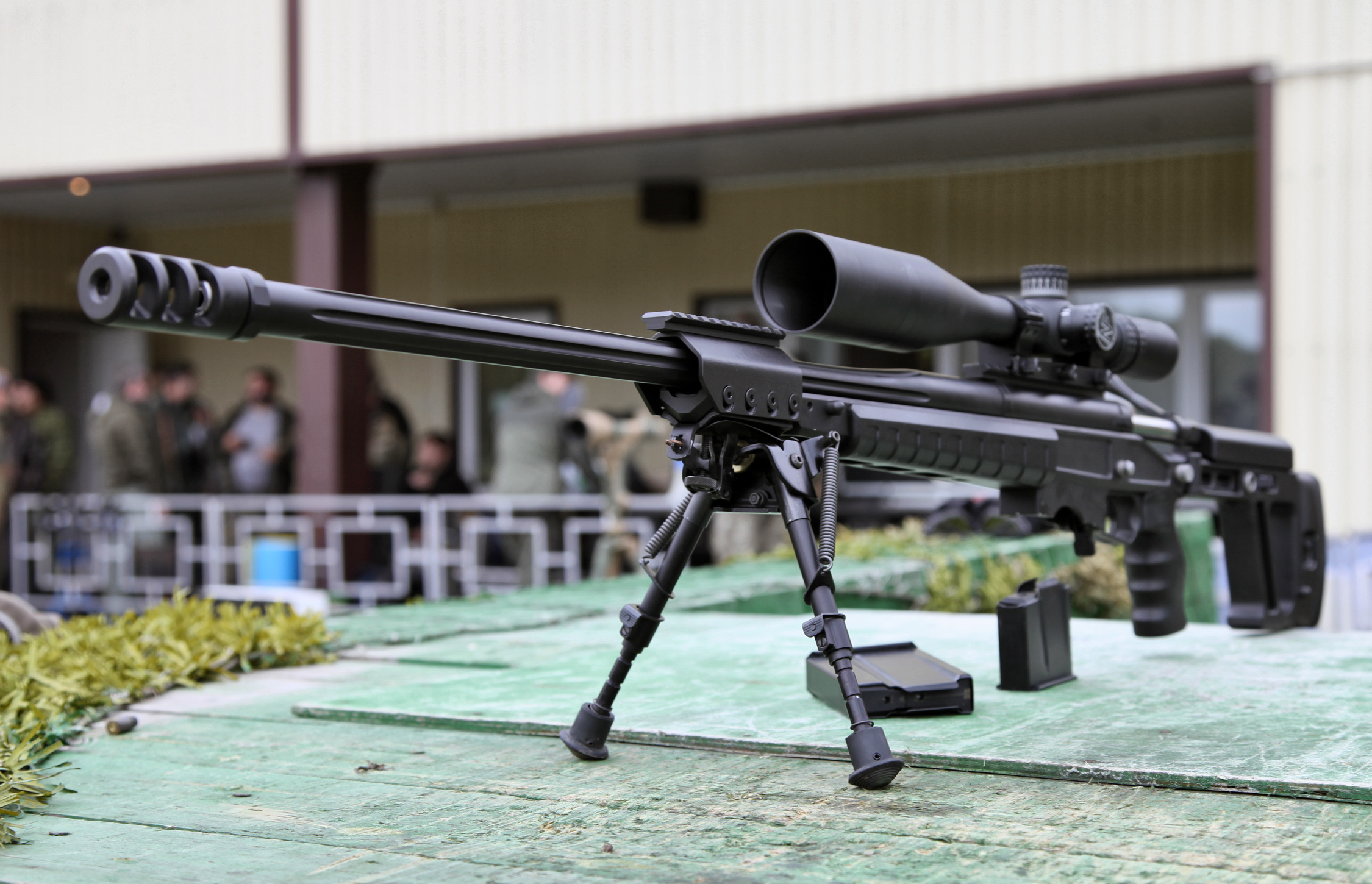 T-Orsis 5000 sniper rifle a Russian weapon gun military ...